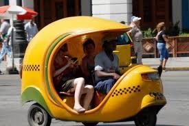 Cuba Coco taxi