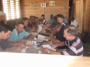 Pastores em grupos