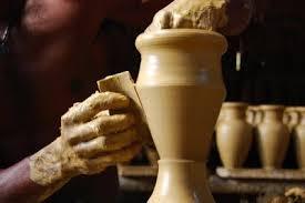vasilhas de barro